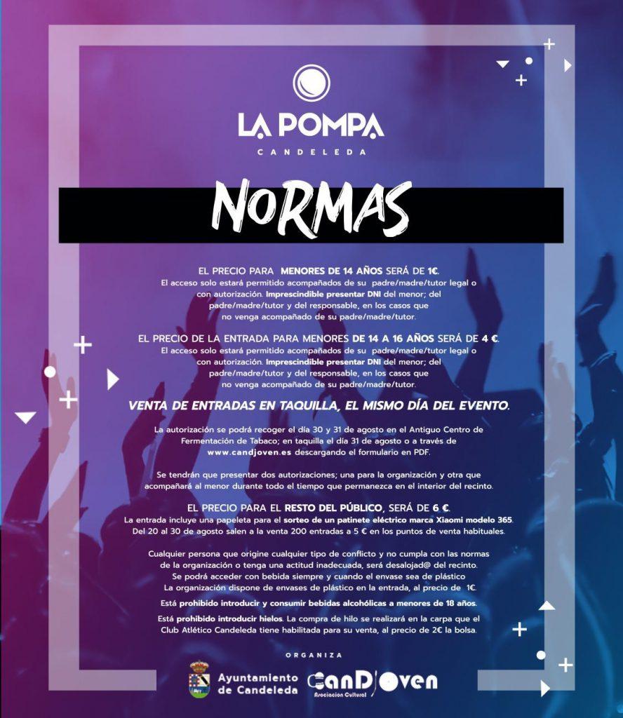 Normas La Pompa 2019